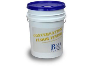 conversation floor finish bucket