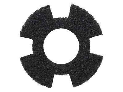 I-mop scrubbing pad black