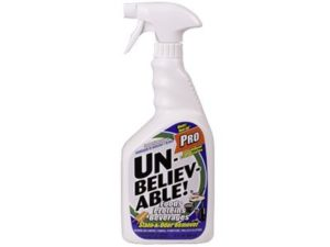 Unbelievable pro stain odor remover
